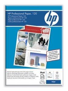HP Q6593A Professional Inkjetpapier matt, A4, 120g, 200 Blatt