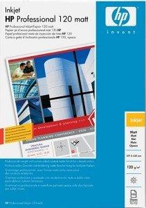 HP Q6594A Professional Inkjetpapier matt, A3, 120g, 100 Blatt