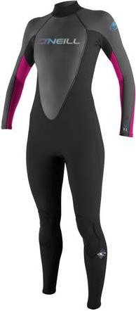 O'Neill Reactor wetsuit 3mm/2mm black/pink (ladies) (OW001977)
