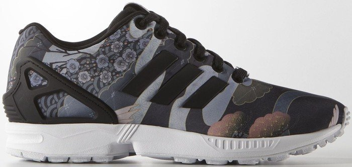 size 40 fdfde c5646 adidas ZX Flux core blackftwr white (ladies) (S75039)