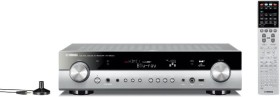 Yamaha RX-S600D (DAB-Version) Slimline Network AV-Receiver with zone 2, App control and DAB+ Tuner titanfarben
