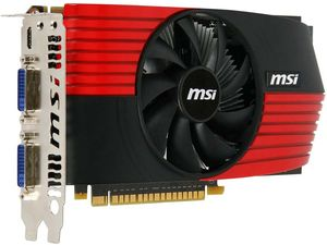 MSI N450GTS-M2D1GD5, GeForce GTS 450, 1GB GDDR5, 2x DVI, mini HDMI