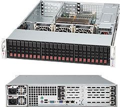 Supermicro 216E1-R900UB black, 2U, 900W redundant