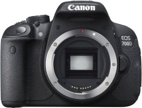 Canon EOS 700D schwarz Body (8596B016)