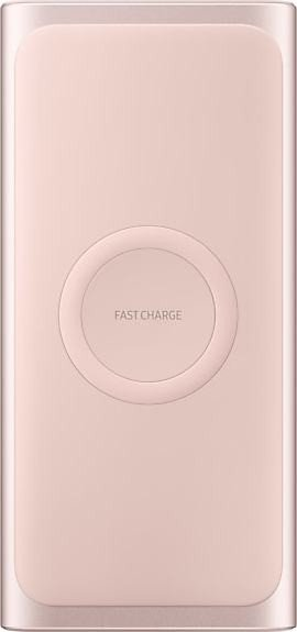 Samsung Wireless Battery Pack mit Schnellladefunktion pink (EB-U1200CPEGWW)