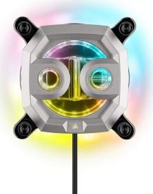 Corsair Hydro X Series XC7 RGB - 2020, silber, 1200/AM4 (CX-9010008-WW)