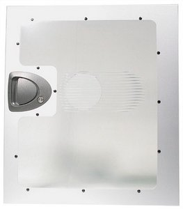 Chieftec SBX-SL side panel with large side panel window, silver