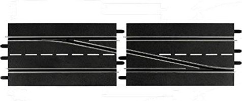 Carrera - Digital 124/132 accessories - Lane change section right (30345) -- via Amazon Partnerprogramm