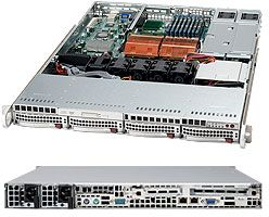 Supermicro 815TQ-R650B black, 1U, 650W redundant
