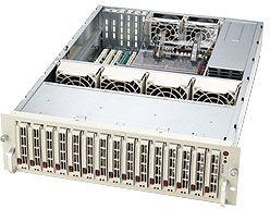 Supermicro SuperChassis 933T-R760 light grey, 3U, 760W redundant
