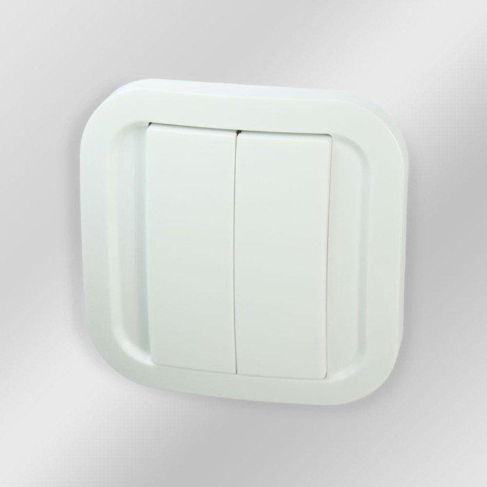 NodOn Wall Switch Cozy White, Unterputz Wandschalter (CWS-3-1-01)