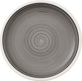 Villeroy & Boch Manufacture Gris breakfast plate 22cm (1042312640)