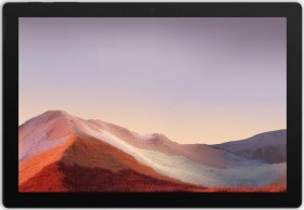 Microsoft Surface Pro 7 Platin, Core i3-1005G1, 4GB RAM, 128GB SSD + Surface Pro Signature Type Cover Bordeaux rot
