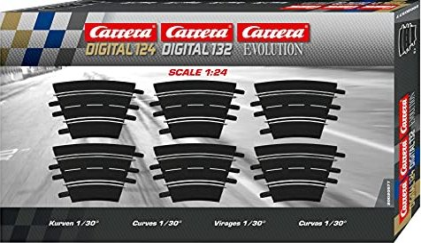 Carrera - Digital 124/132/Evolution Accessories - Curve 1 / 30 degrees (20577) -- via Amazon Partnerprogramm
