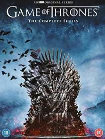 Game of Thrones Season 1-8 (DVD) (UK)