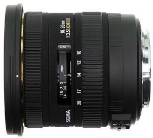 Sigma AF 10-20mm 3.5 EX DC HSM für Canon EF schwarz (202954)