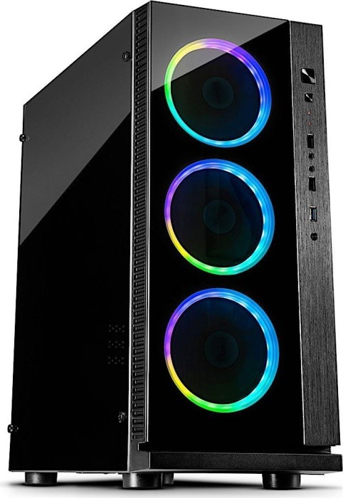 Inter-Tech W-III RGB, Acrylfenster (88881291)
