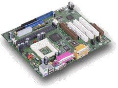 Fujitsu D1216-B, i815EP, µATX