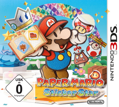 paper Mario: case batches Star (English) (3DS)
