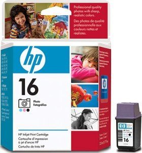 HP Printhead with ink 16 colours photo (C1816AE)