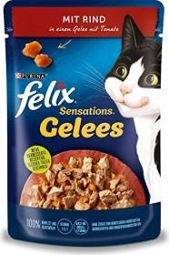 Felix Sensations Gelees mit Rind und Tomate 2.04kg (24x 85g)