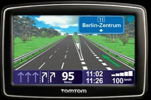TomTom XL Europe Traffic IQ-Routes Edition Central Europe (1EM0.093.01)