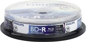 Philips BD-R 25GB 6x, 10er Spindel (BR2S6B10F/00)