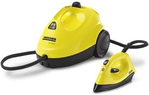 Kärcher SC1020B steam cleaner with iron