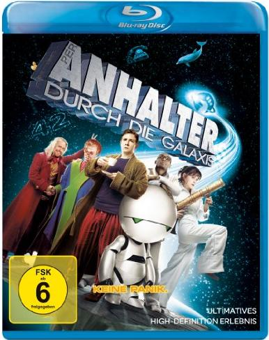 Per Anhalter durch die Galaxis (2005) (Blu-ray) -- via Amazon Partnerprogramm