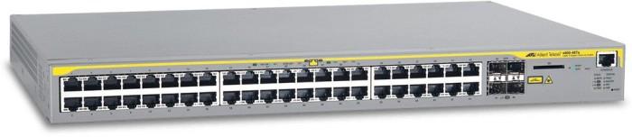 Allied Telesis x600 Rackmount Gigabit Managed Stack Switch, 44x RJ-45, 4x SFP (AT-X600-48Ts/990-002629)
