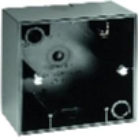 Berker S.1 Aufputz-Gehäuse 1fach, schwarz glänzend (10418935)
