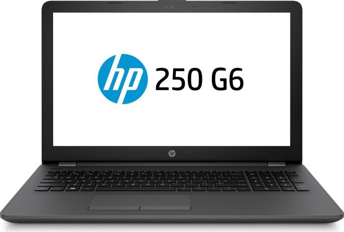HP 250 G6 schwarz, Core i5-7200U, 8GB RAM, 256GB SSD, DOS (2UC38ES#ABD)