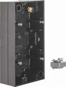 Berker S.1 Aufputz-Gehäuse 2fach, schwarz glänzend (10428935)
