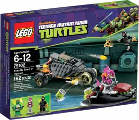 LEGO Teenage Mutant Ninja Turtles - Stealth Shell in Pursuit (79102)