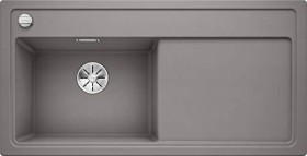 Blanco Zenar XL 6 S granite basin left alumetallic incl. glass cutting board (523976)