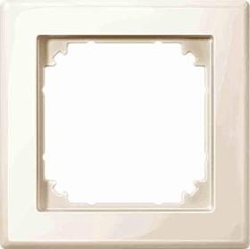 Merten System M M-SMART Rahmen 1fach Thermoplast brillant, weiß (478144)