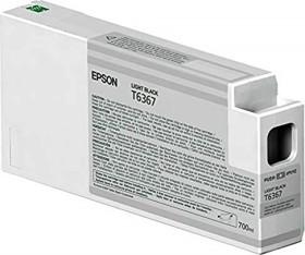 Epson Tinte T6367 schwarz hell (C13T636700)
