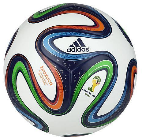 Adidas Fussball Brazuca Fifa Wm 2014 Top Replik Ball