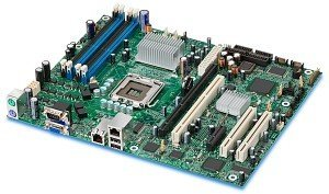 Intel Entry Server Board S3000AH, i3000 (dual PC2-5300 DDR2)