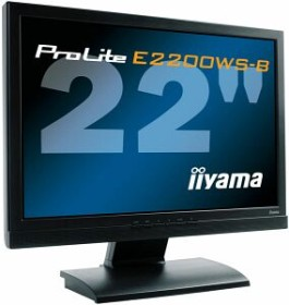 """iiyama ProLite E2200WS-B, 22"""""""