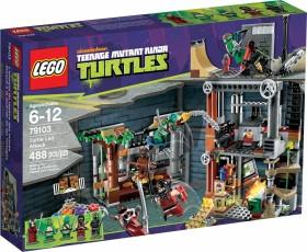 LEGO Teenage Mutant Ninja Turtles - Turtle Lair Attack (79103)