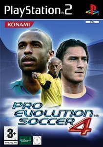 Pro Evolution Soccer 4 (niemiecki) (PS2)