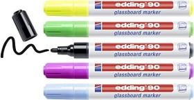 edding 90 Glasboardmarker sortiert, 5er-Set (4-90-5-999)