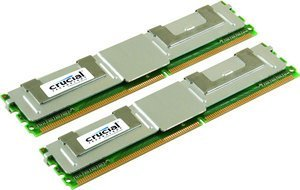 Crucial FB-DIMM kit 8GB PC2-5300F ECC CL5 (DDR2-667) (CT2KIT51272AF667)