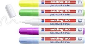 edding 90 Glasboardmarker sortiert, 5er-Set (4-90-5-099)