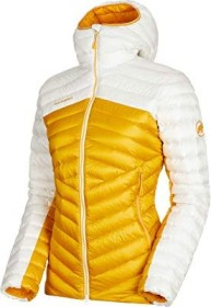 Mammut Broad Peak IN Hooded Jacke golden/bright white (Damen) (1013-00350-1247)