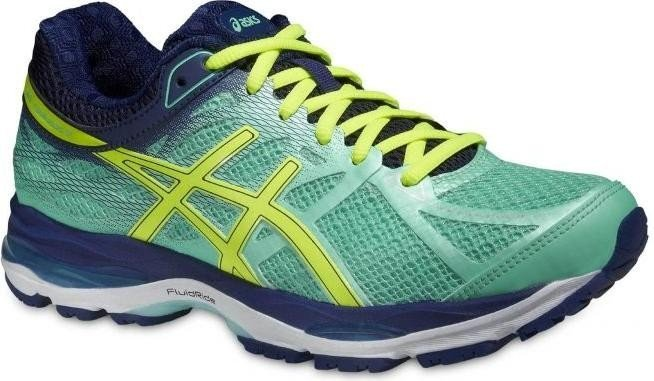 Asics Gel-Cumulus 17 aqua mint/flash yellow/navy (Damen) (T5D8N-7007) ab €  109,00