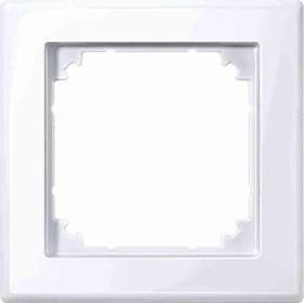 Merten System M M-SMART Rahmen 1fach Thermoplast brillant, aktivweiß (478125)