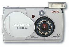 Olympus Camedia C-220 Zoom (różne zestawy)