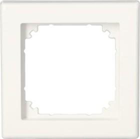 Merten System M M-SMART Rahmen 1fach Thermoplast brillant, polarweiß (478119)